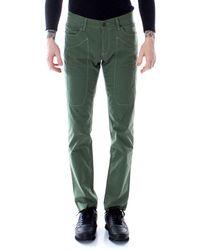Jeckerson Green Cotton Jeans