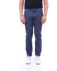 Jacob Cohen Trousers Five Pockets - Blue