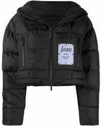 McQ Polyamide Down Jacket - Black