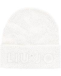Liu Jo Beige Viscose Hat - Natural