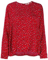 Levi's - Red Other Materials Blouse - Lyst