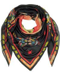 Givenchy Black Silk Foulard
