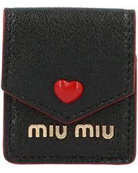Miu Miu Other Materials Case - Black