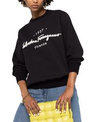 Ferragamo 1927 Signature Sweatshirt - Black