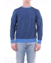 Drumohr Knitwear Crewneck - Blue