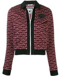 Miu Miu Viscose Sweatshirt - Red
