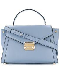 Michael Kors Luxury Fashion   S 30t8gxis2l487 Light Blue Handbag   Season Permanent