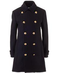 Celine Wool Coat - Black