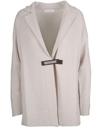 Fabiana Filippi Beige Wool Jacket - Natural