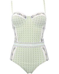 Tory Burch - Other Materials One-piece Suit - Lyst