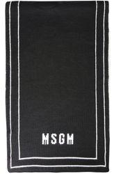 MSGM SCHAL - Schwarz