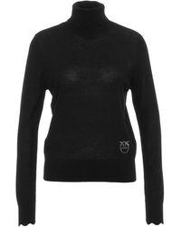 Pinko 1g16g8y77112z99 andere materialien sweater - Schwarz