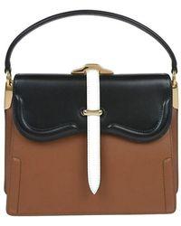 Prada Leather Handbag - Brown