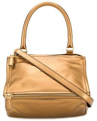 Givenchy - Gold Leather Handbag - Lyst