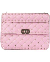Valentino Pink Leather Handbag