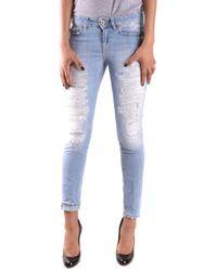Dondup Blue Cotton Jeans