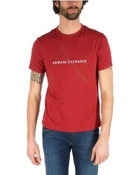 Armani Exchange COTONE - Rosso