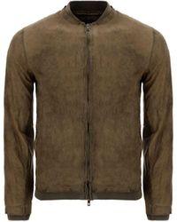 Salvatore Santoro Other Materials Outerwear Jacket - Green