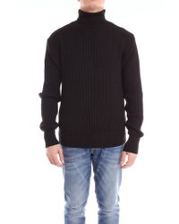 Relive Black Wool Sweater