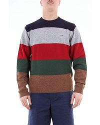 Sun 68 WOLLE PULLOVER - Mehrfarbig