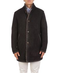 Gimo's Wool Coat - Brown