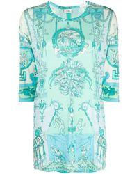 Etro Klassische Bluse - Grün