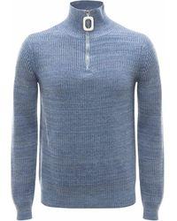 JW Anderson Pullover mit Rollkragen - Blau