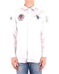 U.S. POLO ASSN. White Cotton Shirt