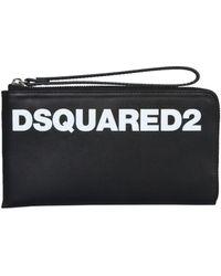 DSquared² POUCH - Schwarz
