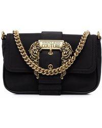 Versace Jeans Couture 71va4bfhzs067899 polyamid schultertasche - Schwarz