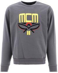 MCM Mhabsmm04charcoalec Other Materials Sweatshirt - Grey
