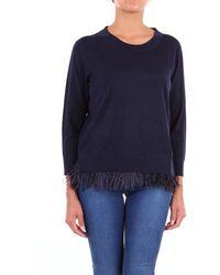 Seventy Blue Wool Sweater