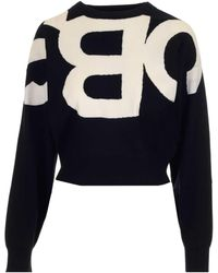 See By Chloé ANDERE MATERIALIEN SWEATER - Schwarz