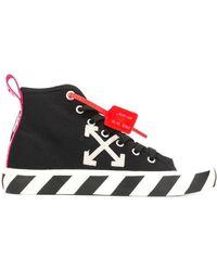 Off-White c/o Virgil Abloh Mid Top Sneaker - Schwarz