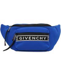 Givenchy Blue Polyamide Belt Bag