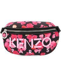KENZO Multicolour Leather Belt Bag