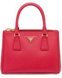 Prada Leather Handbag - Red
