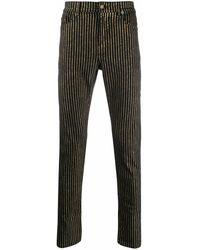 Saint Laurent Cotton Jeans - Metallic