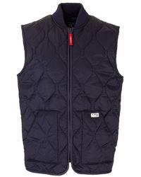 Fay Other Materials Vest - Blue