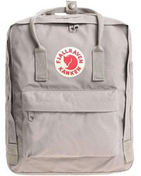 Fjallraven Grey Synthetic Fibres Backpack - Gray