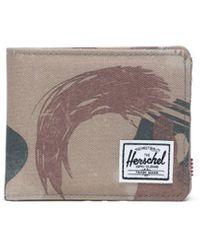 Herschel Supply Co. Beige Polyester Wallet - Natural