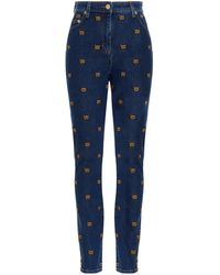 Moschino J031055221343 andere materialien jeans - Blau