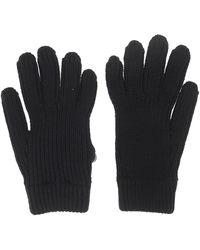 Prada Umk67s2121zkaf0002 wolle handschuhe - Schwarz