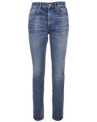 Celine Cotton Jeans - Blue