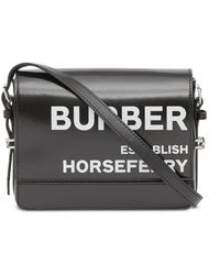 Burberry - Small Grace Horseferry-print Crossbody Bag - Lyst