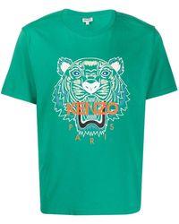 KENZO T-Shirt Classic Tiger - Grün