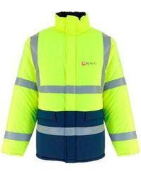 Balenciaga 660125tyd337204 andere materialien mantel - Gelb