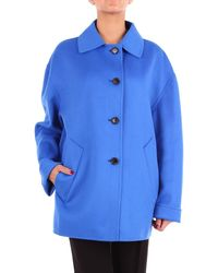 Marni Blue Wool Coat