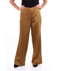 Maliparmi Classic Khaki Pants - Brown