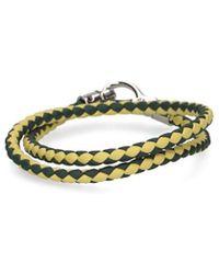Tod's Yellow Leather Bracelet